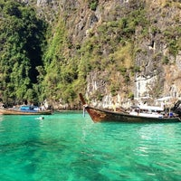 Photo taken at Phi Phi Islands by Raedahz L. on 1/13/2013