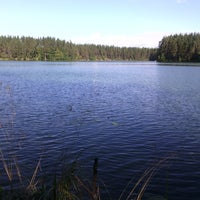 Photo taken at Ольховское озеро by Andrew G. on 9/6/2014