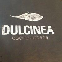 Photo taken at Dulcinea by Ju M. on 4/13/2013