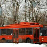 Photo taken at Троллейбус №2 by Sasha P. on 3/7/2016