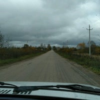 Photo taken at Коромыслово by Sasha P. on 10/14/2016