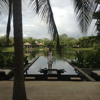 Photo taken at Banyan Tree Double Pool Villa 915 by Marina D. on 8/9/2013