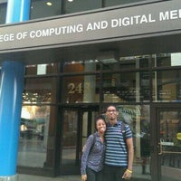 Photo taken at DePaul University - College of Computing and Digital Media by Charlene R. on 9/6/2013