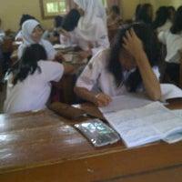 Photo taken at SMP Negeri 7 Bandung by Arin N. on 10/15/2013