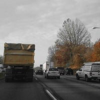 Photo taken at Schuylkill Expressway by Deecee S. on 11/30/2012
