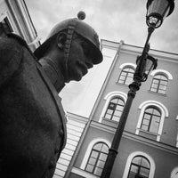 Photo taken at Памятник Городовому by Jar B. on 6/11/2014