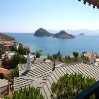 Photo taken at Perili Bay Resort by Özgür K. on 7/20/2013