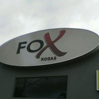 Photo taken at Fox Pneus by Rodrigo S. on 7/9/2014