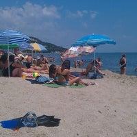 Photo taken at Черноморец (Chernomorets) by Atanas A. on 7/28/2013