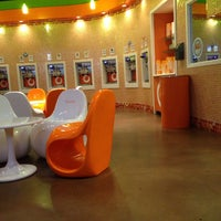 Photo taken at Orange Leaf by Abraham E. on 7/19/2013