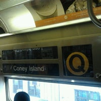Photo taken at MTA Subway - Q Train by Daniel S. on 11/23/2012