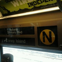 Photo taken at MTA Subway - N Train by Daniel S. on 11/21/2012