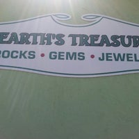 Photo taken at Earth's Treasures by Sandra G. on 7/13/2013