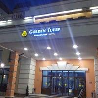 Photo taken at Golden Tulip Rosa Khutor by Александр on 5/17/2014