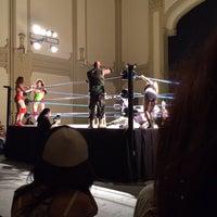 Photo taken at Teatro Novedades by Alexis L. on 12/8/2013