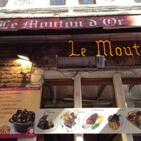 Photo taken at Le Mouton D'Or by Kelly B. on 5/24/2014