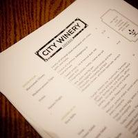 Foto tomada en City Winery por City Winery el 7/11/2013