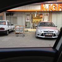 Photo taken at Migros by Selçuk Y. on 7/25/2015