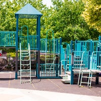 Photo taken at William Sheridan Playground by Compass on 7/24/2013