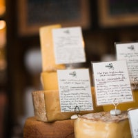 Photo taken at Saxelby Cheesemongers by Compass on 7/23/2013