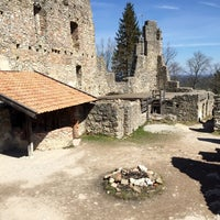 Photo taken at Burgruine Eisenberg by Christopher B. on 4/10/2015