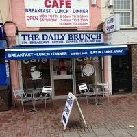 Photo taken at Daıly Brunch Cafe 374 Rıpple Road Barkıng Essex IG11 9RS by Adnan Y. on 7/12/2013