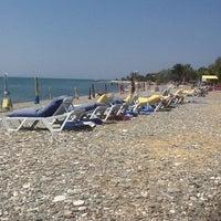 Photo taken at Raca Beach Club by Ali K. on 7/20/2013