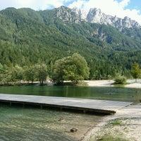 Photo taken at Jezero Jasna by Karsten K. on 9/1/2016