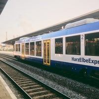 Photo taken at Bahnhof Bernburg by Ákos 🏋👨⚕️ on 4/9/2016