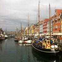 Photo taken at Nyhavnsbroen by Joseph W. on 4/18/2013