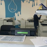 Photo taken at Ink Print&Copy Center by Abdulaziz A. on 3/8/2014
