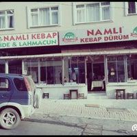 Photo taken at Namli Kebap by Karahan S. on 10/14/2014