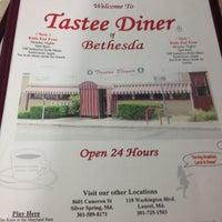 Photo taken at Tastee Diner by Ben H. on 5/1/2013