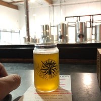 Photo taken at 7 Seas Brewing & Taproom by Jeffro D. on 4/14/2018