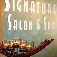 Photo taken at Signature Salon & Spa by Signature Salon & Spa on 7/11/2013