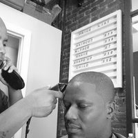 Photo taken at Against The Grain Barber Shop by Deshawn F. on 7/5/2014