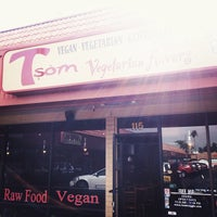 Photo taken at Tsom Vegetarian Flavors by Chanelle S. on 11/20/2013