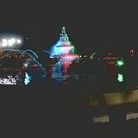 Photo taken at Alun-alun Bangkalan by Isroatul A. on 5/26/2014