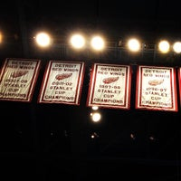 Photo taken at Joe Louis Arena by Steve C. on 4/1/2013