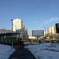 Снимок сделан в Голосеевская площадь пользователем Caner C. 2/24/2013