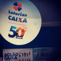 Photo taken at Loteria Vitória by Raphael F. on 10/25/2012