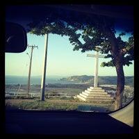 Photo taken at Cerro de la Cruz by Gabriel S. on 11/2/2012