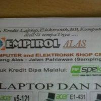 Photo taken at Empirol EL-COM Alas by Jaya S. on 7/12/2013