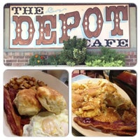 Photo taken at The Depot Cafe by Kimberly G. on 9/23/2012