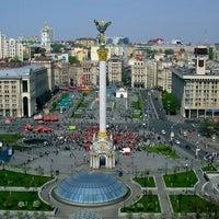Снимок сделан в Майдан Незалежности пользователем Taya K. 7/12/2013