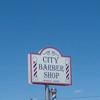 Photo taken at City Barber Shop by Carlos A. on 4/18/2013
