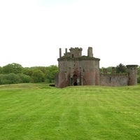 Photo taken at Caerlaverock Castle by Arian D. on 5/10/2014