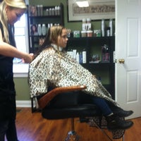 Photo taken at Salon In The Mills by Ashley on 11/16/2013