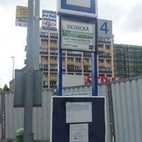 Photo taken at Dejvická (bus) by Pavel D. on 7/15/2013