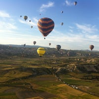 Photo taken at Ürgüp Hot Air Balloons by TKGO on 5/29/2013